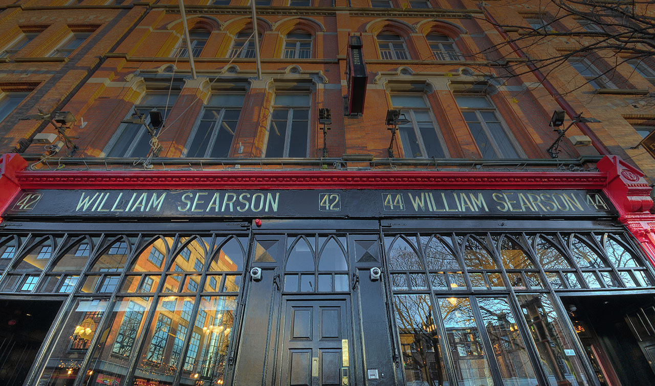 Welcome to Searsons Bar, 42 Upper Baggot St, Dublin 4