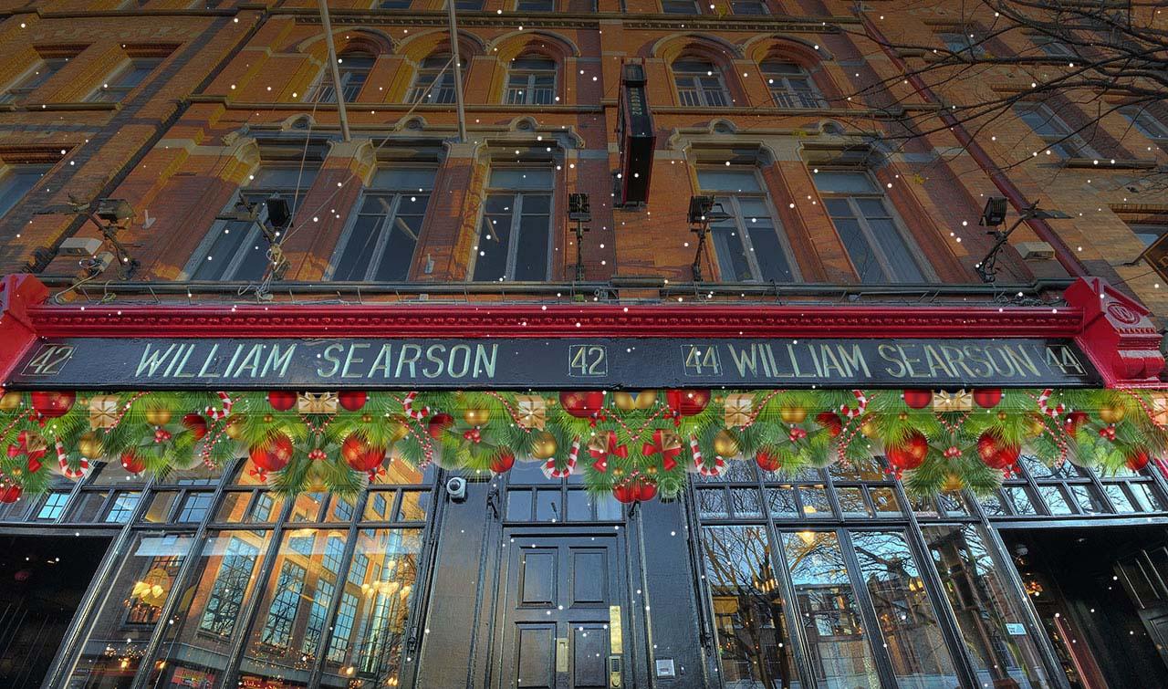 Welcome to Searsons Bar, 42 Upper Baggot St, Dublin 4
