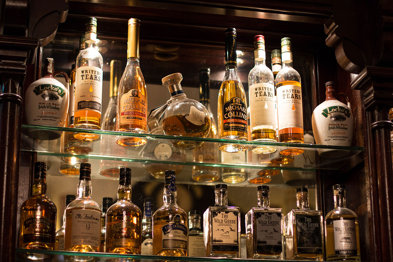 Whiskey Bar Shelves